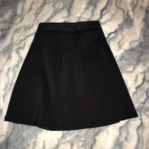 High Waisted Skater Skirt